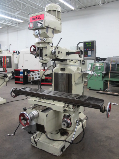 Machinesused Com Doall Model 2103 Vertical Toolroom Mill