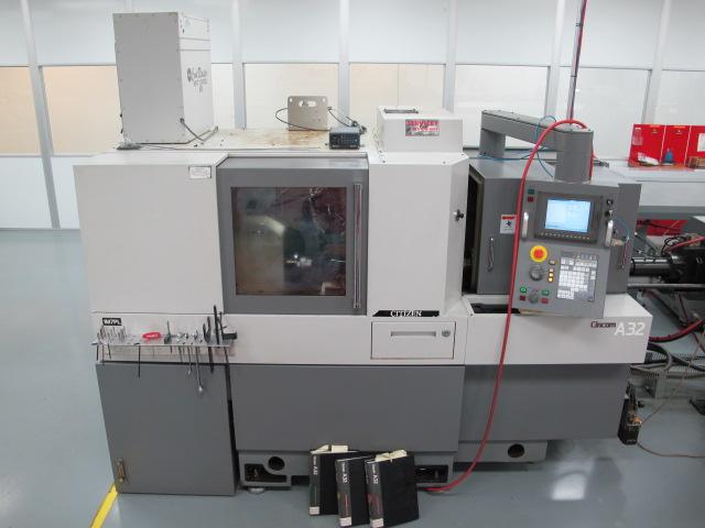 cnc swiss machine